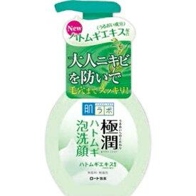 【送料無料・まとめ買い×3個セット】ロート製薬 肌研 極潤 ハトムギ泡洗顔 160ml