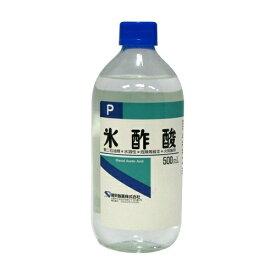 【送料無料・まとめ買い×3個セット】健栄製薬 氷酢酸P 500ml