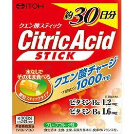 【送料無料・まとめ買い×10】井藤漢方製薬 クエン酸スティック30日分 2g×60包