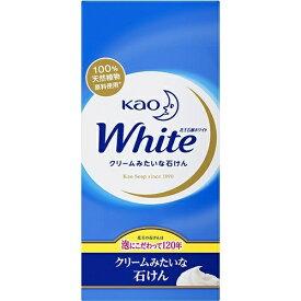 花王 ホワイト 普通サイズ 85g×6個入