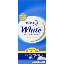 【送料込・まとめ買い×5個セット】花王 ホワイト バスサイズ 130g×6個パック