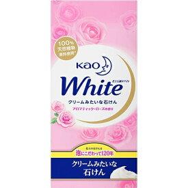 花王 ホワイト アロマティックローズの香り レギュラー 85g × 6コ入