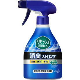花王 リセッシュ 除菌EX 消臭ストロング さわやかなハーブの香り 本体 370ml