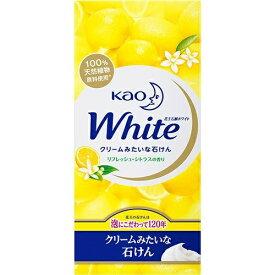 花王 ホワイト リフレッシュ・シトラスの香り レギュラー 85g×6個入