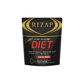 RIZAP ライザップ プロテイン ダイエットフォーミュラ ピーチ&グレープフルーツ 30食分 750g