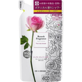 【送料込・まとめ買い×5個セット】花王 リセッシュ 除菌EX フレグランス ピュアローズシャワーの香り つめかえ用 320ml