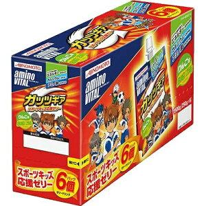 【送料無料・まとめ買い×3個セット】味の素 アミノバイタル AMINO VITAL ガッツギア りんご味 6個パック