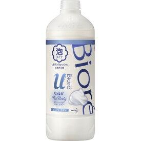 【送料無料・まとめ買い×3個セット】花王 ビオレu ザ ボディ The Body 泡タイプ ピュアリーサボンの香り つめかえ用 450ml
