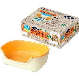 【送料込】花王 ニャンとも清潔 トイレ 子ねこ用セット アイボリオレンジ