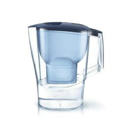 BRITA ブリタ 浄水 ポット 2.0L アルーナ XL ブルー ポット型 浄水器 マクストラプラス カートリッジ 1個付き(4006387084059)