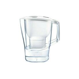 BRITA ブリタ 浄水 ポット 2.0L アルーナ XL ポット型 浄水器 マクストラプラス カートリッジ 1個付き(4006387084073)