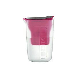 BRITA ブリタ 浄水 ポット 1.0L ファン ピンク ポット型 浄水器 マクストラプラス カートリッジ 1個付き(4006387084172)
