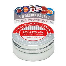 【送料無料・まとめ買い×3】TENGA CONDOM テンガ コンドーム 6個入 ナチュラル×3点セット(計18コ)(4560220554654)