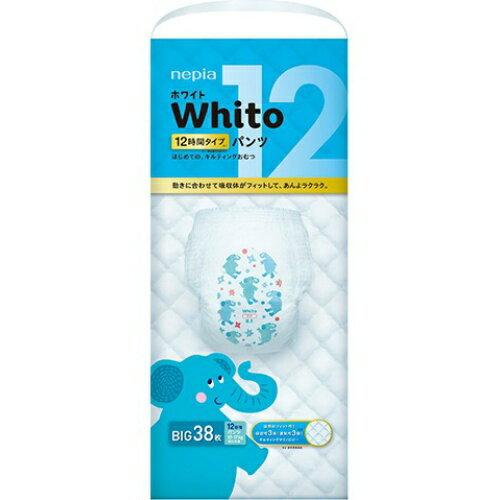 ネピア Whito ホワイトパンツ Bigサイズ 12時間タイプ 38枚