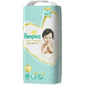 P&G Pampers(パンパース) はじめての肌へのいちばん テープ スーパージャンボ Mサイズ 48枚入 ( 赤ちゃん オムツ ) ( 4902430693172 )※パッケージ変更の場合あり