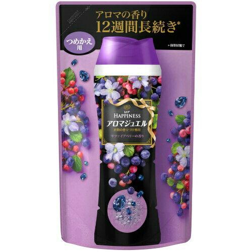 P&G レノア ハピネス アロマジュエル サファイアベリーの香り 455ml 詰め替え(洗濯用芳香剤 衣類用 つめかえ)(4902430704571)
