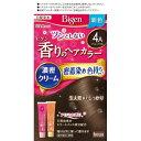 【週末限定!スーパーフライデーSale!5/18〜】 ホーユー ビゲン 香りのヘアカラー クリーム 4A アッシュブラウン 40g+40g