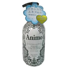 【送料無料・まとめ買い×10】ANIMO アニモ ノンシリコンシヤンプー 本体 500ml×10点セット(4571113807139)