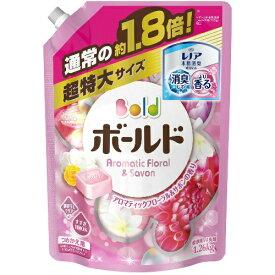 【6個で送料込】【大容量】P&G Bold ( ボールド ) 洗濯洗剤 液体 詰め替え用 超特大サイズ 1.26kg  ×6点セット ( 4902430675802 )