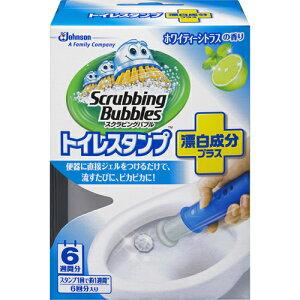 【ジョンソン】【スクラビングB】スクラビングバブル トイレスタンプ漂白成分プラス ホワイティーシトラスの香り 38G(トイレ用洗浄剤) ( 4901609006300 )