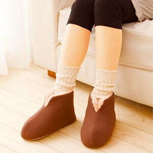【秋冬限定】桐灰化学足の冷えない不思議なスリッパ23-25cm(脚の冷えない靴下シリーズ)(4901548600119)※無くなり次第終了