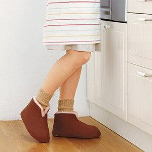 【秋冬限定】桐灰化学足の冷えない不思議なスリッパ23-25cm(脚の冷えない靴下シリーズ)(4901548600119)※品薄無くなり次第終了