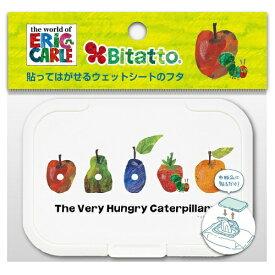ビタットジャパン ビタット おしりふきに貼るフタ レギュラー あおむしとフルーツ