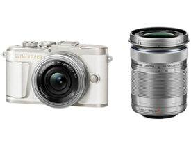 E-PL9 EZダブルズームキット [ホワイト] OLYMPUS PEN オリンパス デジタル一眼カメラ【送料無料】【新品】