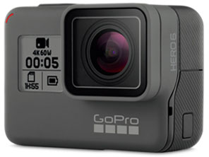 CHDHX-601-FW HERO6 BLACK GoPro GOPROマイクロSD対応 4Kムービー ウェアラブルカメラ GoPro ゴープロ HERO6 Black ブラックエディション 【送料無料】【新品】