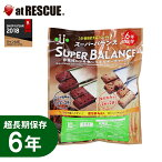 6年保存食バランスパワー栄養機能食品【保存食・備蓄食】ココア味×2袋(4本)全粒粉×2袋(4本)入り