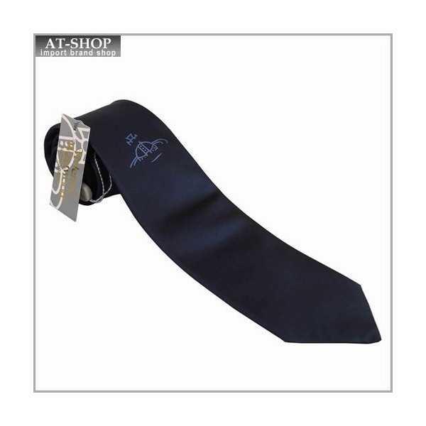 【あす楽】Vivienne Westwood ヴィヴィアン・ウェストウッド ネクタイ 8.5cm オーヴ柄 909013-C04-color0004 BLUE NAVY