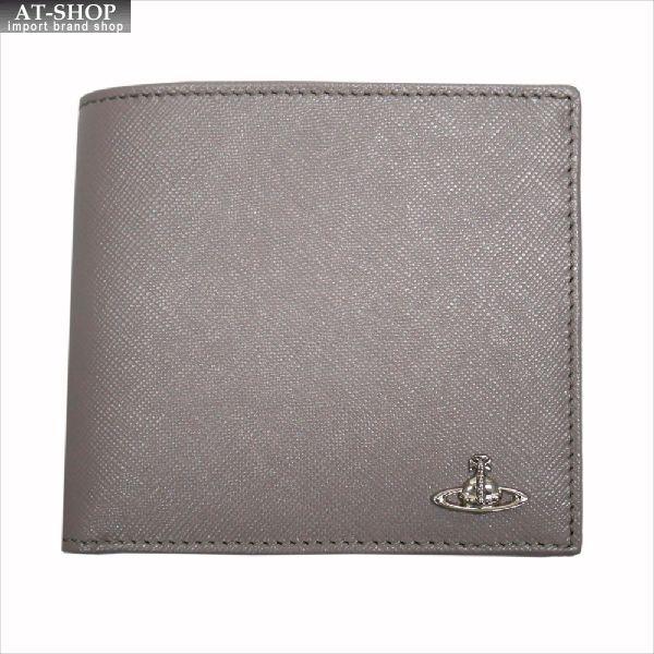 【あす楽】Vivienne Westwood ヴィヴィアン・ウェストウッド 財布サイフ NO,8 KENT 二つ折り財布 33.364 GREY 17SS グレー