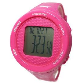 PUMA プーマ 時計 STEP ステップ レディース 腕時計 PU911042004 ピンク