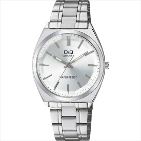 CITIZEN シチズン 腕時計 Q&Q カットガラス クラシック メンズ時計 QB78-201 シルバー