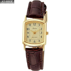 CITIZEN シチズン 腕時計 Q&Q ファルコン レディース時計 QA69-103 ブラウン