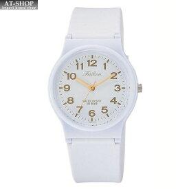 CITIZEN シチズン 腕時計 Q&Q 10気圧防水 レディース ウレタンベルト VS20-002 ホワイト ゴールド
