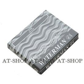 【あす楽】WATERMAN ウォーターマン専用 万年筆 インク カートリッジ 8本セット ブラック STD23 S2270210
