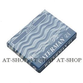 【あす楽】WATERMAN ウォーターマン専用 万年筆 インク カートリッジ 8本セット ブルーブラック STD23 S2270220 S0110910