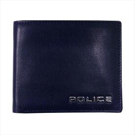 POLICE ポリス 財布サイフ ボルドゥーラ 二つ折り財布 PLC133 NAVY