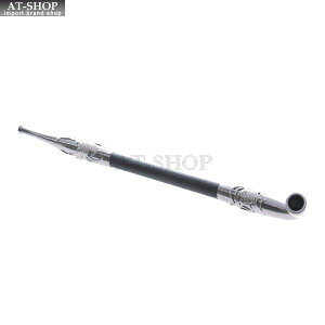 柘製作所(tsuge) 黒煙管「蜘蛛の糸」(くろぎせるくものいと) #50929 煙管キセル パイプ 喫煙具