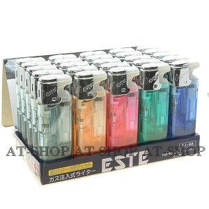 ESTE ウインディ ターボライター 注入式 ジェットライター CR規制対象外ライター(お得まとめ買い 25本セット) ※色選択不可 箱無し ネコポス便