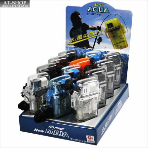 ツインライト アゲインスト アクア ターボライター AGAINST AQUA 注入式 ジェットライター (お得12本まとめ買い 12本セット) ※色選択不可
