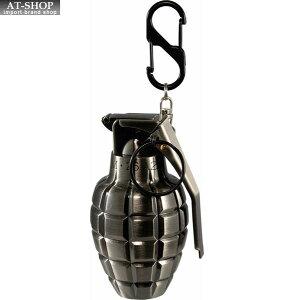 【あす楽】グレネード ターボライター 手榴弾 ミリタリー ガス注入式ライター アドミラル産業 71390047 銀古美(シルバー)