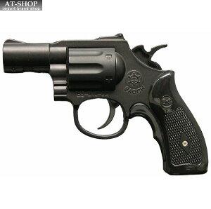 【あす楽】BSリボルバーライター マットブラック GUN 銃 ミリタリー ガス注入式ターボライター アドミラル産業 71290002