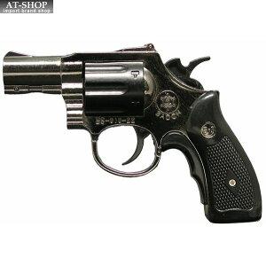 BSリボルバーライター ガンメタル GUN 銃 ミリタリー ガス注入式ターボライター アドミラル産業 71290061