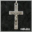 【訳あり特価】シルバー925アンティーク復刻キリスト十字架クロス ペンダントトップ チャーム SV925 シルバーアクセサ…
