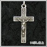【クロス・十字架】アンティーク復刻シルバー925♪クロスネックレス