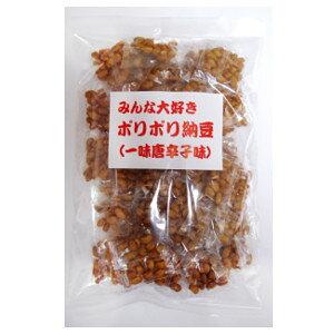 【クーポン獲得】【当店は4980円以上で送料無料】ポリポリ納豆 一味唐辛子味