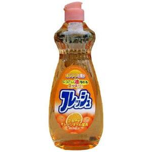 【送料込】ロケット石鹸 オレンジオイル配合 フレッシュ 本体 600ml 1個
