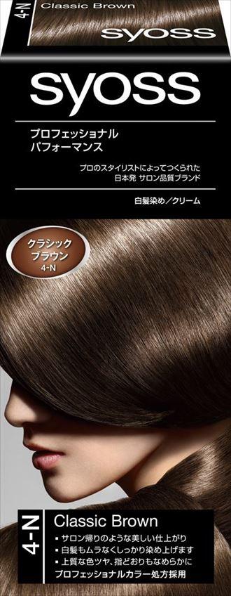 ヘンケルジャパン サイオス ヘアカラー クリーム 4 クラシックブラウン 1個